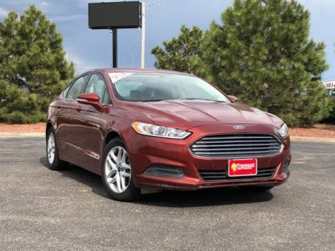 Certified Pre-Owned 2014 Ford Fusion 4dr Sdn SE FWD