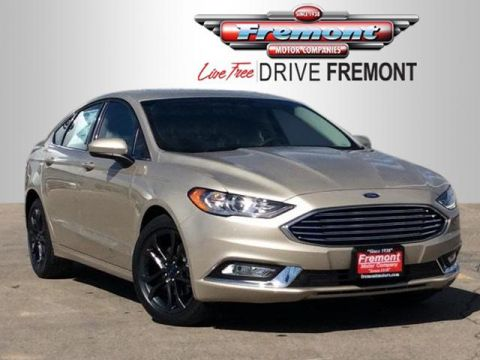 Certified Pre-Owned 2018 Ford Fusion SE FWD