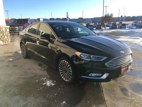Fremont Certified 2017 Ford Fusion Titanium FWD FWD 4dr Car