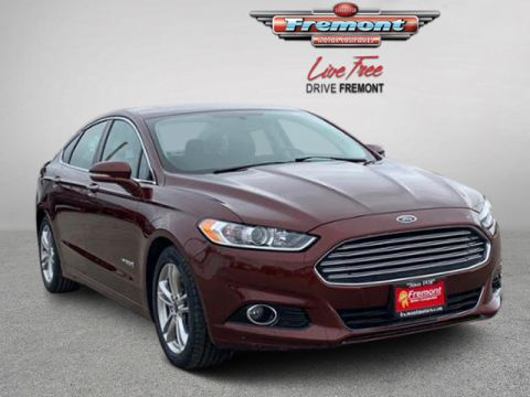Certified Pre-Owned 2015 Ford Fusion 4dr Sdn Titanium Hybrid FWD