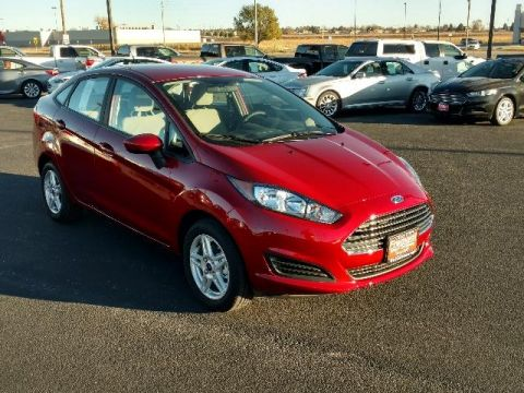 New 2017 Ford Fiesta SE Sedan FWD 4dr Car