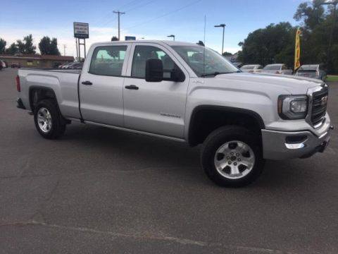 Pre-Owned 2017 GMC Sierra 1500 4WD Crew Cab 153.0
