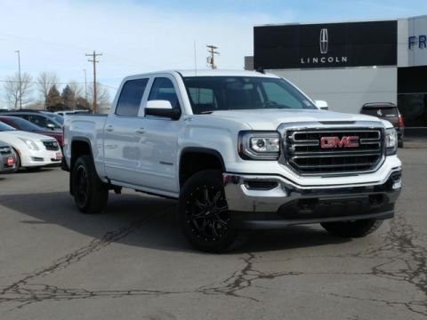 Certified Pre-Owned 2018 GMC Sierra 1500 4WD Crew Cab 143.5 SLE