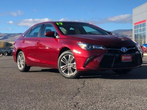 Certified Pre-Owned 2017 Toyota Camry Hybrid SE CVT