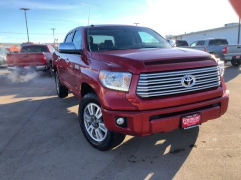 Certified Pre-Owned 2016 Toyota Tundra 4WD CrewMax 5.7L FFV V8 6-Spd AT Platin