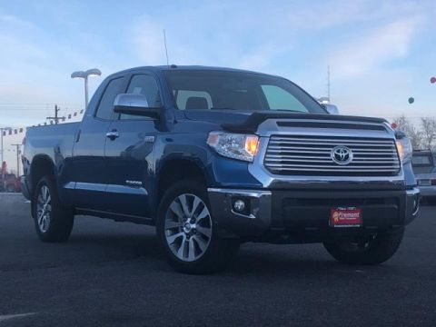 Certified Pre-Owned 2016 Toyota Tundra 4WD Double Cab 5.7L V8 6-Spd AT LTD