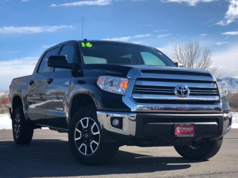 Certified Pre-Owned 2016 Toyota Tundra 4WD CrewMax 5.7L FFV V8 6-Spd AT SR5