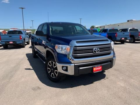 Certified Pre-Owned 2015 Toyota Tundra 4WD CrewMax 5.7L FFV V8 6-Spd AT SR5