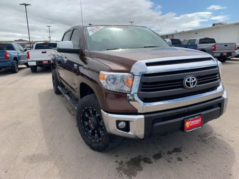 Certified Pre-Owned 2014 Toyota Tundra 4WD CrewMax 5.7L V8 6-Spd AT LTD