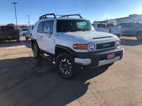 Certified Pre-Owned 2012 Toyota FJ Cruiser 4WD 4dr Auto