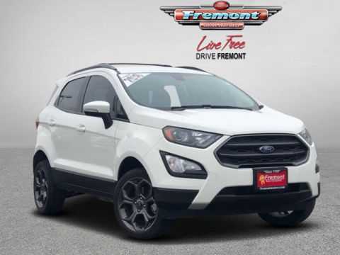 Certified Pre-Owned 2018 Ford EcoSport SES 4WD