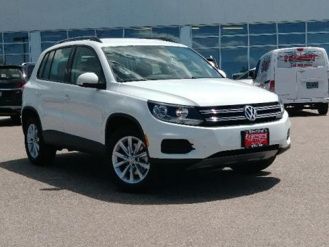 New 2018 Volkswagen Tiguan Limited 2.0T 4MOTION AWD