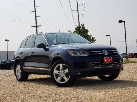 Certified Pre-Owned 2012 Volkswagen Touareg 4dr VR6 Lux