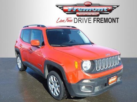 Fremont Certified 2016 Jeep Renegade 4WD 4dr Latitude 4WD