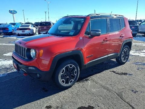 Fremont Certified 2015 Jeep Renegade 4WD 4dr Trailhawk With Navigation & 4WD