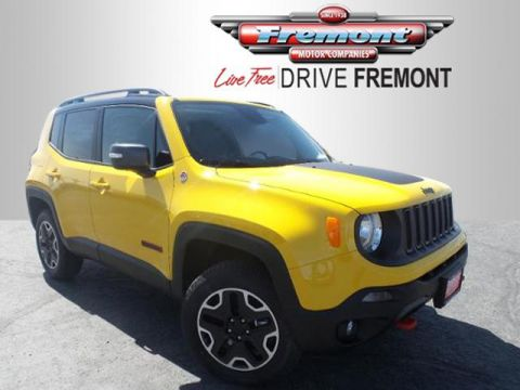 New 2016 Jeep Renegade 4WD 4dr Trailhawk 4WD